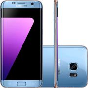 "Smartphone Samsung Galaxy S7 Edge Azul 5,5"" Câmera 12MP 32GB Octa Core 4GB de RAM"