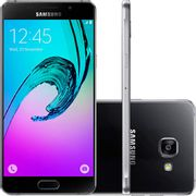 "Smartphone Samsung Galaxy A7 2016 Duos Android 5.1 Tela 5.5"" 16GB 4G Câmera 13MP Preto Smartphone Samsung Galaxy A7 2016 Duos Android 5.1 Tela 5.5"" 16GB 4G Câmera 13MP - Preto"