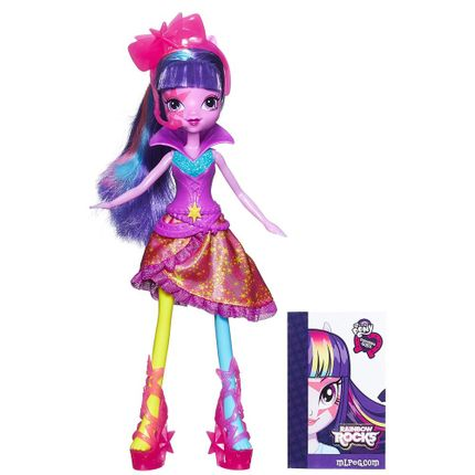 Boneca My Little Pony - Equestria Girls - New Twilight Sparkle ...