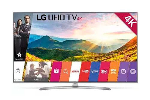 TV 55 Polegadas Smart TV 4K LG LED Upscaler